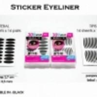 Jual New Stiker Mata Hitam Tebal [scott eyeliner/eyelid] Murah