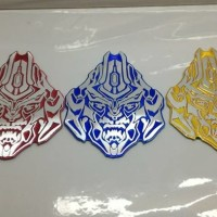 Jual JUAL MURAH emblem transformer / transformers autobot megatron face uk Murah