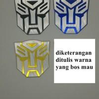 Jual JUAL MURAH emblem transformer / transformers autobot Murah