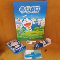 Jual (Murah) Doraemon 3 in 1 Set: Powerbank, Tongsis, Touch U Murah