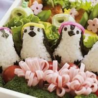 Jual (Sale) Cetakan Bento Nasi Nori Rumput Laut Bentuk Penguin Murah