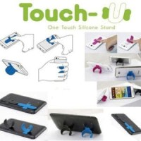 Jual (Dijamin) Touch U One Touch Silicone Stand Holder Murah