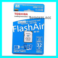 FLASH AIR TOSHIBA 32Gb 32 GB WIFI SD CARD WIRELESS LAN FLASHAIR ORI