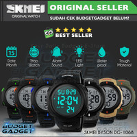 SKMEI Pioneer Watch/Jam tangan LED Digital Waterproof 50m - DG1068