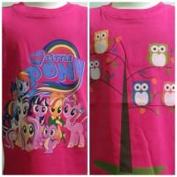 Jual kaos owl n little pony Murah