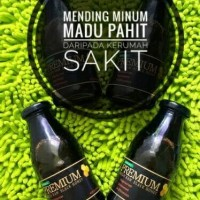 PREMIUM Fresh Raw Black Honey ( Madu Hitam Hutan Organik)