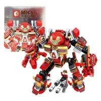 [Mainan Lego] SEMBO BLOCKS MK16 339PCS - 60001