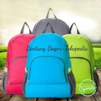 Jual Tas Ransel Lipat/Foldable Backpack Murah