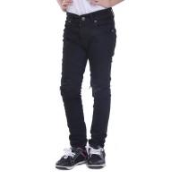 Celana Levis Anak Perempuan Jeans Sobek Skinny Hitam TDLR 4071