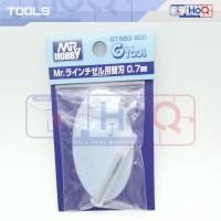 MR Hobby 0.7mm BLADE FOR Mr Line Chisel