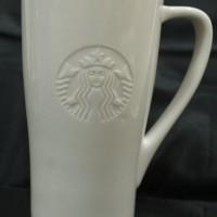 Jual Starbucks Ceramic Mug Glass Gelas White Tall Size Murah