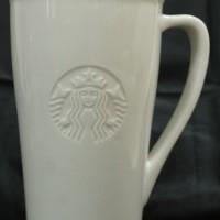 Jual Starbucks Ceramic Mug White Grande Size Murah