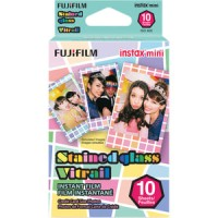 Jual Fujifilm Instax Paper Mini Instant Color Film Stained Glass 10 Sheets Murah