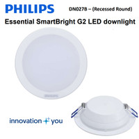 "Philips LED Downlight DN027B 7W 5"" - 5 Inch Lampu Plafon"