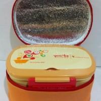 LUNCH BOX SET YOOYEE 591 / TAS BEKAL / TEMPAT MAKAN / BPA FREE