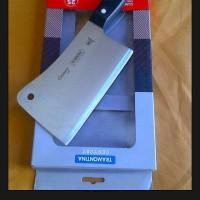 cleaver knife lobang tramontina century original 6 inchi