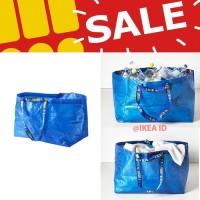Jual  IKEA FRAKTA Tas kantong besar biru T0210 Murah