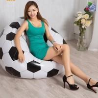 Kursi / Sofa Angin bestway / motif sepak bola / tiup / sofa malas