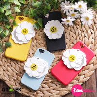 FLOWER MIRROR CASE 3D FOR IPHONE 5 / 5S / SE / 6 / 6S / 6+ / 6S+ CUTE