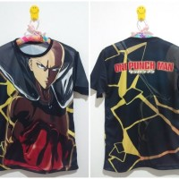Jual Kaos Anime Japan Otaku OPM One Punch Man Saitama Murah