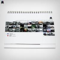Kalender Nasional 2018 (Tema Kereta Api)