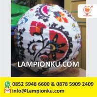 Produsen Lampion Bulat Motif Cantik Jakarta