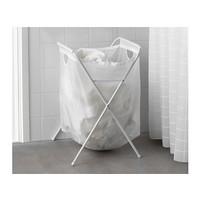 Jual Terbatas IKEA JALL Tempat Cucian dengan Stand Putih Best Seller Murah