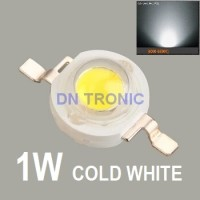 High Power LED 1W Super Bright HPL 1 Watt Putih Cool White