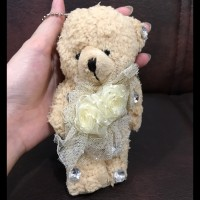 Jual Boneka Gantungan Kunci / Tas / Key Chain / Bag Charm Teddy Bear Murah
