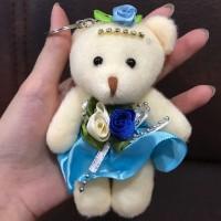 Jual Boneka Gantungan Kunci / Tas / Key Chain / Bag Charm Teddy Bear Cute Murah