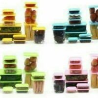 CALISTA OTARU SEALWARE ISI 14 TOPLES BOX (LIKE TUPPERWARE)