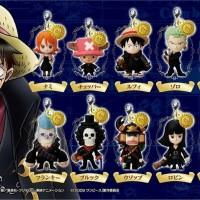 Jual One Piece Film Strong World Mascot Charm Keychain  Murah