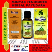 Minyak Fenugreek (Minum dan Pijat OK) - Mengencangkan Payudara