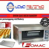 Oven gas roti Fomac murah bergaransi