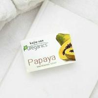 Whitening Soap Kojie San Pureganics Papaya 135 gr