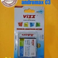 Battery/baterai Double Power Vizz Smartfren Andromax C3/c3s