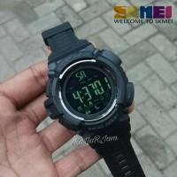 Jam Tangan Skmei Original SmartWatch Bluetooth Pedometer Water Resist