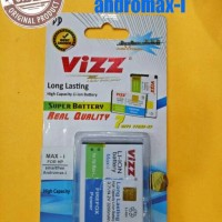 Battery/baterai Double Power Vizz Smartfren Andromax I /i New
