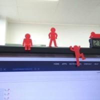 Hiasan Komputer / Meja Kantor / Karakter Leader / Gantungan Komputer