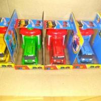 Mainan Bus Tayo garasi set 4pcs