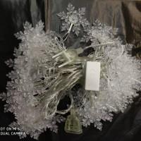 harga Lampu Natal 40 Kristal Tokopedia.com