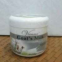 Jual Vienna Goats Milk Whitening Body Scrub 250gr- Lulur Susu Kambing Asli Murah