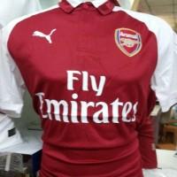 Jual Jersey bola Arsenal home 2017/2018 GO grade ori import terbaru Murah