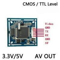 vimicro camera module VC0706 RS232 / TTL / AV