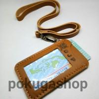 pre order name tag kulit djp/perpajakan/logo perusahaan by request