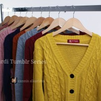 Cardigan Rajut Tumblr Series-Cardigan Wanita-Cardigan Best Seller