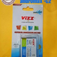 Battery/baterai Double Power Vizz Smartfren Andromax C2