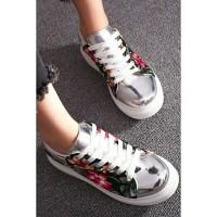 Jual PTO07S Sepatu Wedges Import / Sepatu Sneakers Wanita Import Murah
