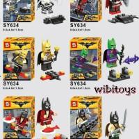 Jual lego SY 634 super hero batman the movie Murah