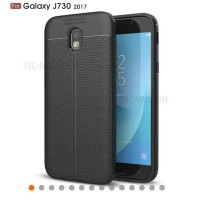 Case Fashion Silicone Coated PU Leather For Samsung Galaxy J7pro J730
